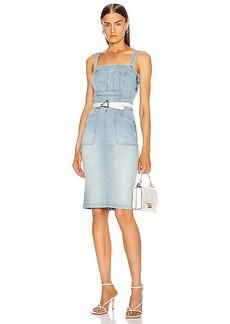 Mother Denim MOTHER Pocket Hustler Overall Dress