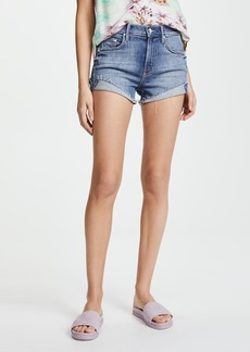Mother Denim MOTHER Rascal Slit Flip Shorts