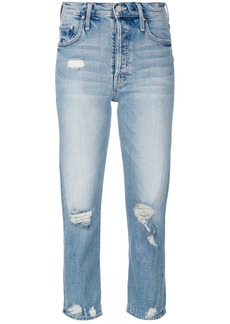 Mother Denim Tom Cat cropped jeans