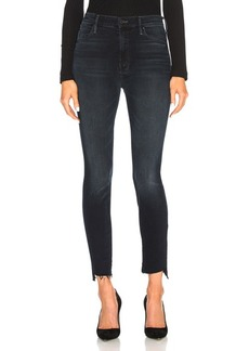 Mother Denim MOTHER Stunner Zip Two Step Fray