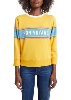 Mother Denim MOTHER The 3/4 Sleeve Sweatshirt