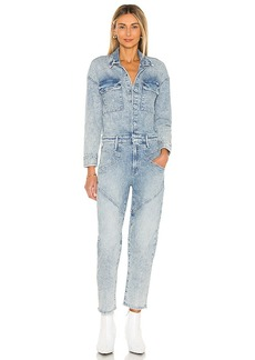 Mother Denim MOTHER The All-In-One Breaker Ankle Jumpsuit