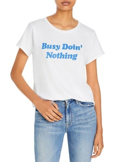 Mother Denim MOTHER The Boxy Goodie Goodie Graphic Tee