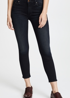 Mother Denim MOTHER The Cropped Looker Skinny Jeans