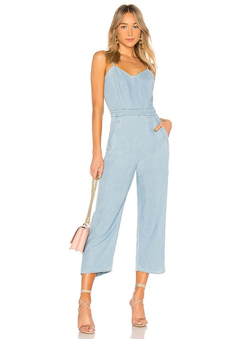 lace up in authentic unparalleled MOTHER The Cut It Out Jumpsuit