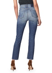 Mother Denim MOTHER The Dazzler Ankle Straight Leg Jeans (Cowboys Don't Cry)