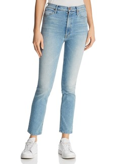 Mother Denim MOTHER The Dazzler Ankle Straight-Leg Jeans in Ready to Roll