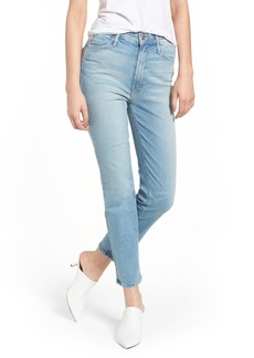 Mother Denim MOTHER The Dazzler Ankle Straight Leg Jeans (Ready to Roll)