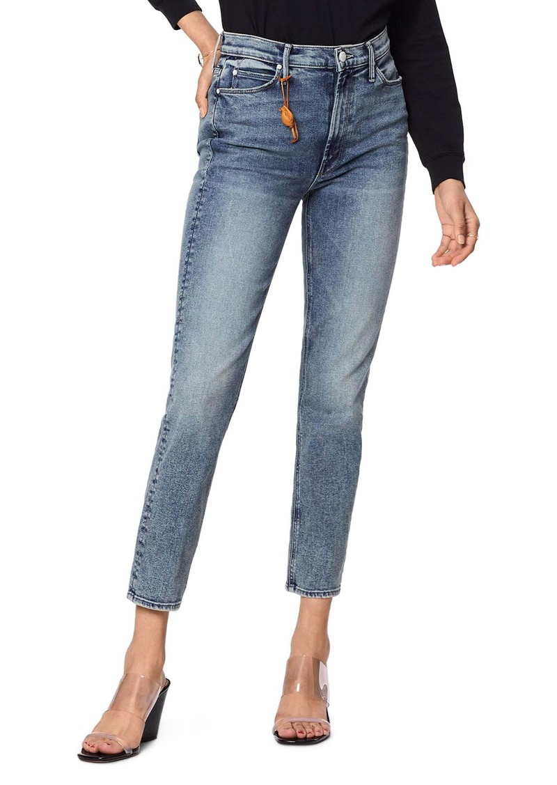 Mother Denim MOTHER The Dazzler High Waist Ankle Straight Leg Jeans (Laws of Attraction)
