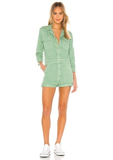 Mother Denim MOTHER The Fixer Short Romper