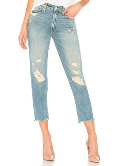 Mother Denim MOTHER The High Waisted Cardinal Sinner Ankle Chew