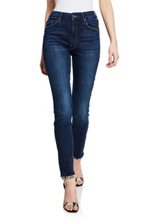 Mother Denim MOTHER The High-Waisted Looker Ankle Skinny Jeans
