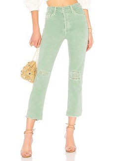 Mother Denim MOTHER The High Waisted Tomcat Chew