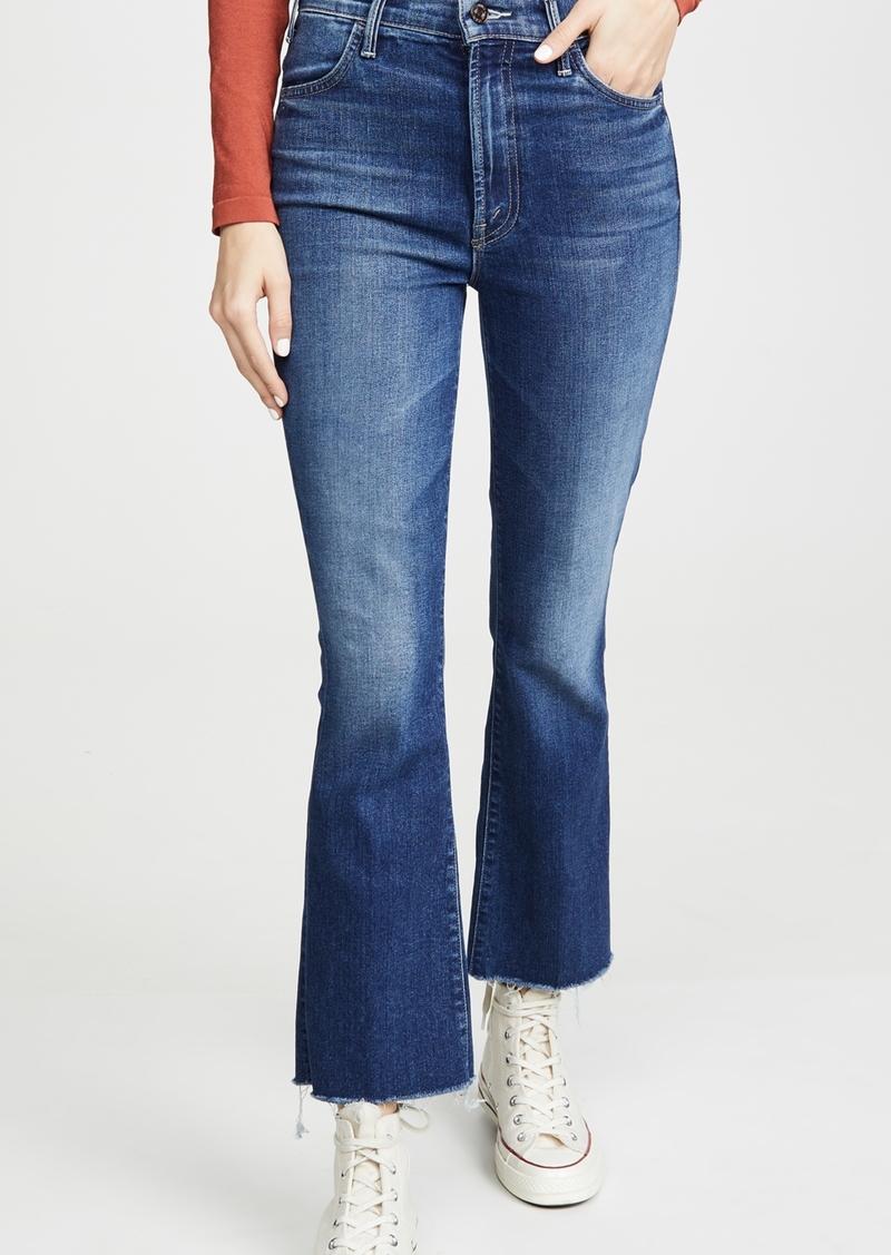 Mother Denim MOTHER The Hustler Ankle Fray Jeans