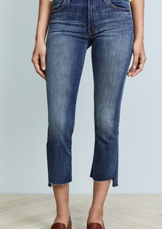 Mother Denim MOTHER The Insider Crop Step Fray Jeans