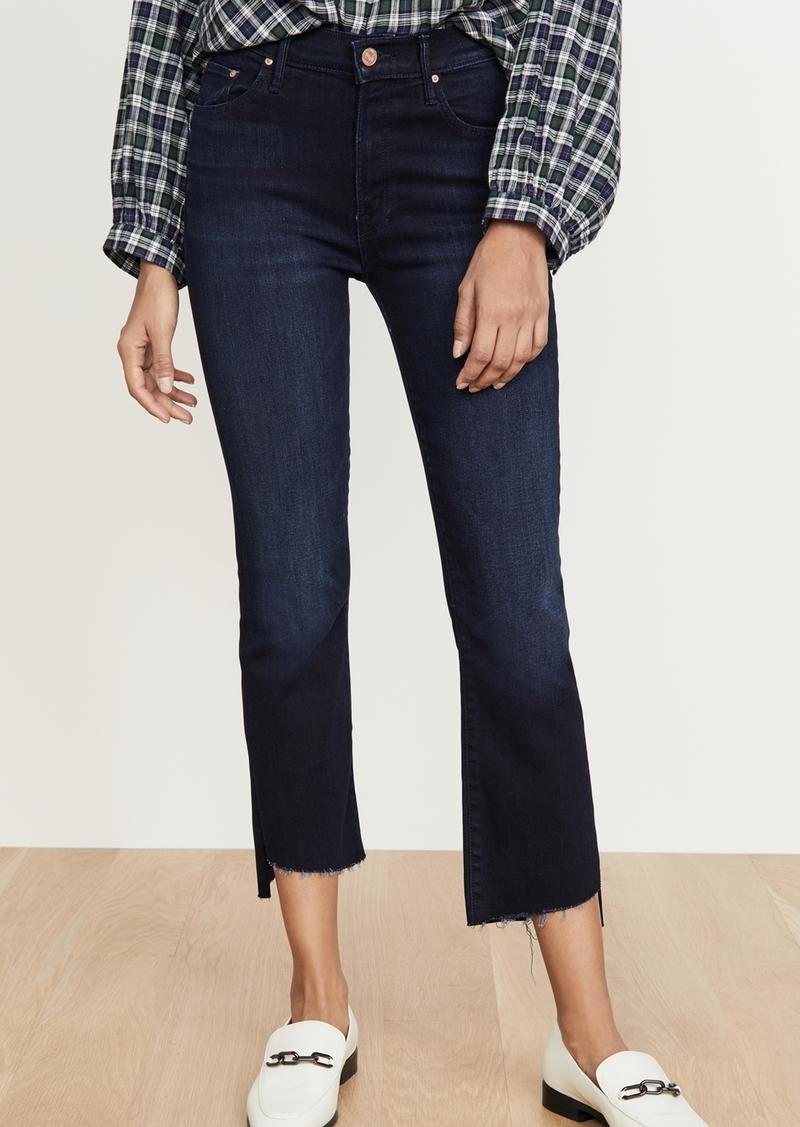 Mother Denim MOTHER The Insider Crop Step Fray Jeans