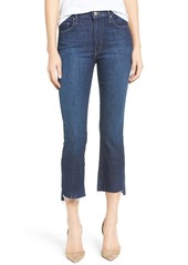 Mother Denim MOTHER 'The Insider' Crop Step Fray Jeans (Shake Well)