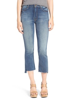 Mother Denim MOTHER 'The Insider' Crop Step Fray Jeans (Not Rough Enough)