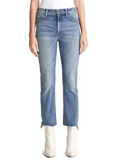 Mother Denim MOTHER The Insider High Waist Crop Step Fray Jeans