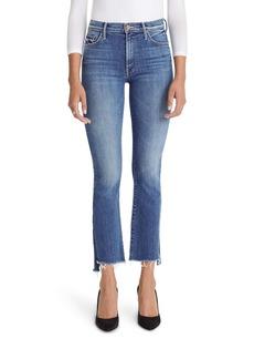 Mother Denim MOTHER The Insider High Waist Step Hem Crop Jeans (Wild Game)