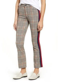 Mother Denim MOTHER The Insider Plaid Ankle Pants