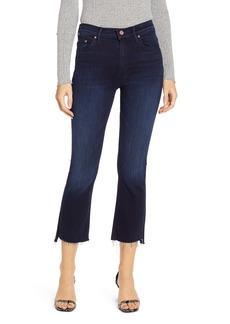 Mother Denim MOTHER The Insider Step Fray Hem Crop Jeans (After Party)
