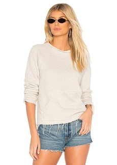 Mother Denim MOTHER The Kangaroo Square Pullover