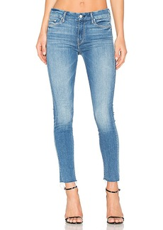Mother Denim MOTHER The Looker Ankle Fray