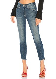 Mother Denim MOTHER The Looker Ankle Step Fray