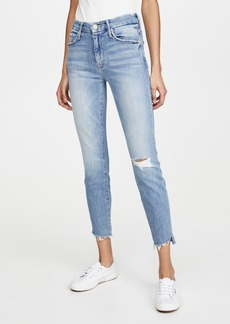 Mother Denim MOTHER The Looker Ankle Step Fray Jeans
