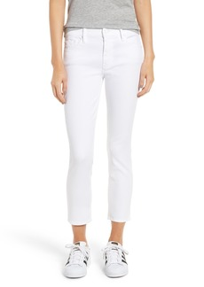 Mother Denim MOTHER The Looker Crop Jeans (Glass Slipper)