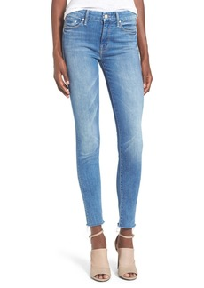Mother Denim MOTHER 'The Looker' Fray Ankle Jeans (Birds of Paradise)