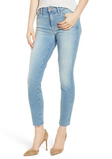 Mother Denim MOTHER The Looker Fray Ankle Skinny Jeans (Ready to Roll)