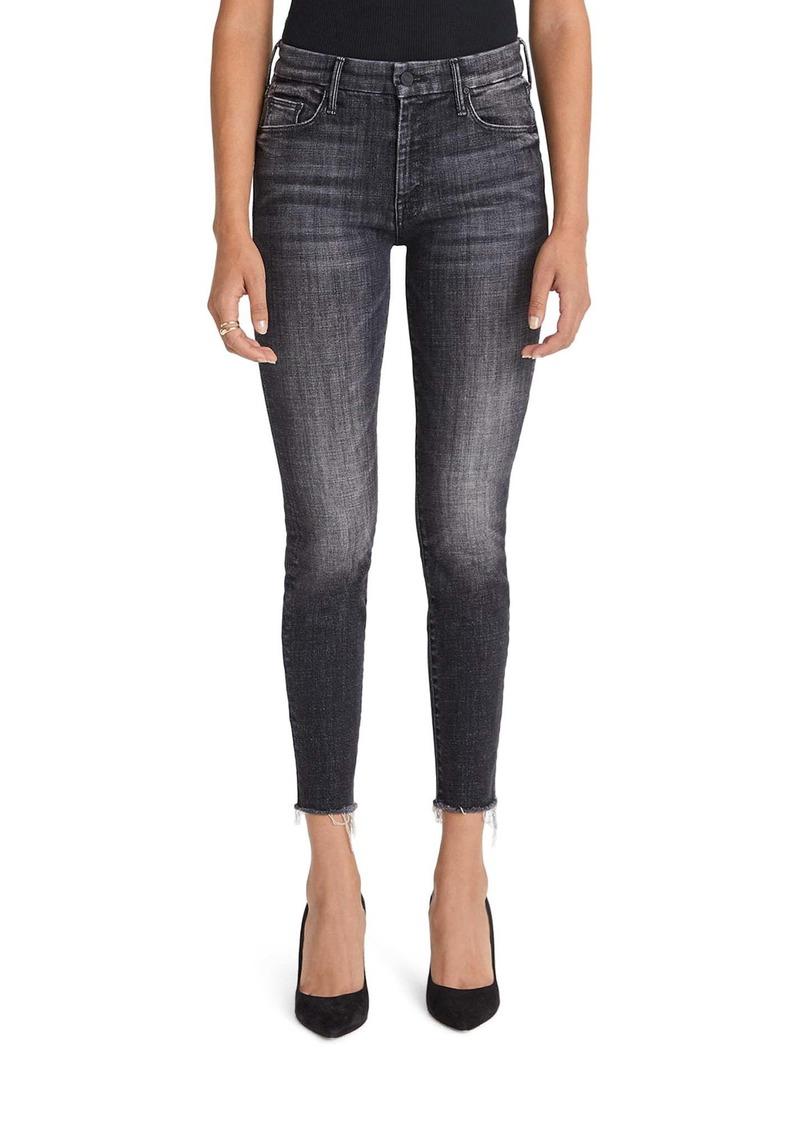 Mother Denim MOTHER The Looker Fray Ankle Skinny Jeans (Stargazing)