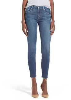 Mother Denim MOTHER The Looker Frayed Ankle Jeans (Girl Crush)