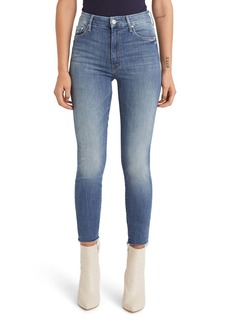 Mother Denim MOTHER The Looker Frayed Ankle Jeans (One Smart Cookie)