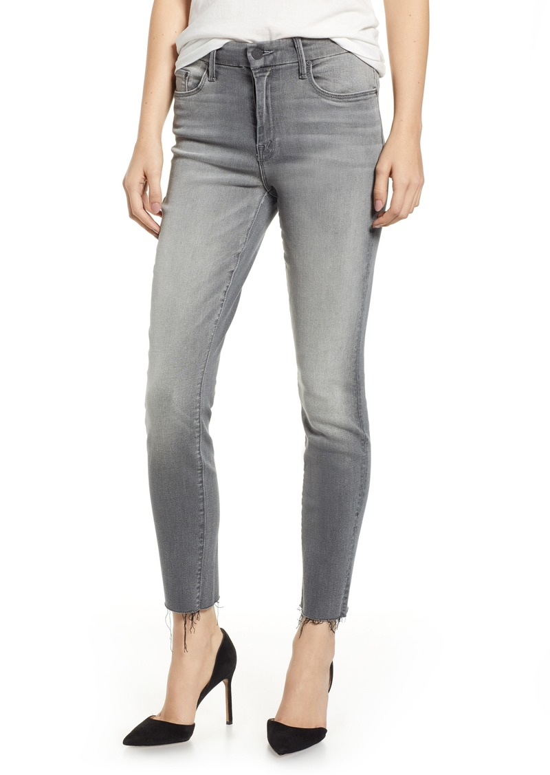 421db5c9e99c Mother Denim MOTHER The Looker Frayed Ankle Jeans (Super Moon)