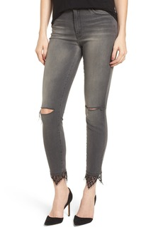 Mother Denim MOTHER The Looker High Waist Ankle Skinny Jeans (Lacey Saloon)