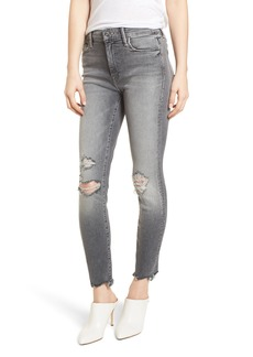 Mother Denim MOTHER The Looker High Waist Ankle Skinny Jeans (Scene of the Crime)