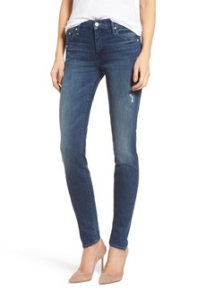 Mother Denim MOTHER The Looker High Waist Skinny Jeans (Dark Graffiti)