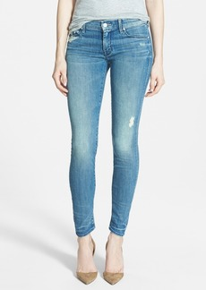Mother Denim MOTHER 'The Looker' Skinny Stretch Jeans (Graffiti Girl)