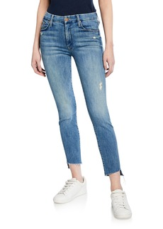 Mother Denim MOTHER The Looker Step Fray Skinny Jeans