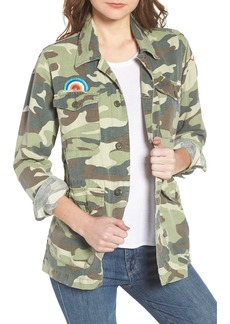 Mother Denim MOTHER The Loose Veteran Camo Jacket