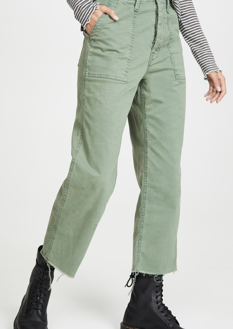 Mother Denim MOTHER The Patch Pocket Private Ankle Fray Pants