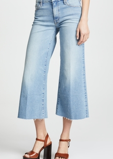 Mother Denim MOTHER The Roller Crop Fray Jeans