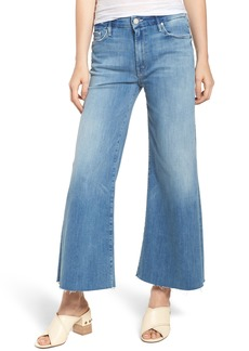 Mother Denim MOTHER The Roller Crop Snippet Wide Leg Jeans (Well Played)