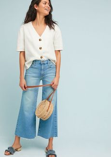 Mother Denim MOTHER The Roller High-Rise Cropped Flare Jeans