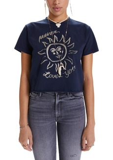 Mother Denim MOTHER The Rowdy Cutoff Graphic Tee