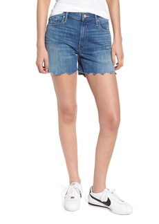 Mother Denim MOTHER The Sinner Fray Denim Shorts (Mums the Word)