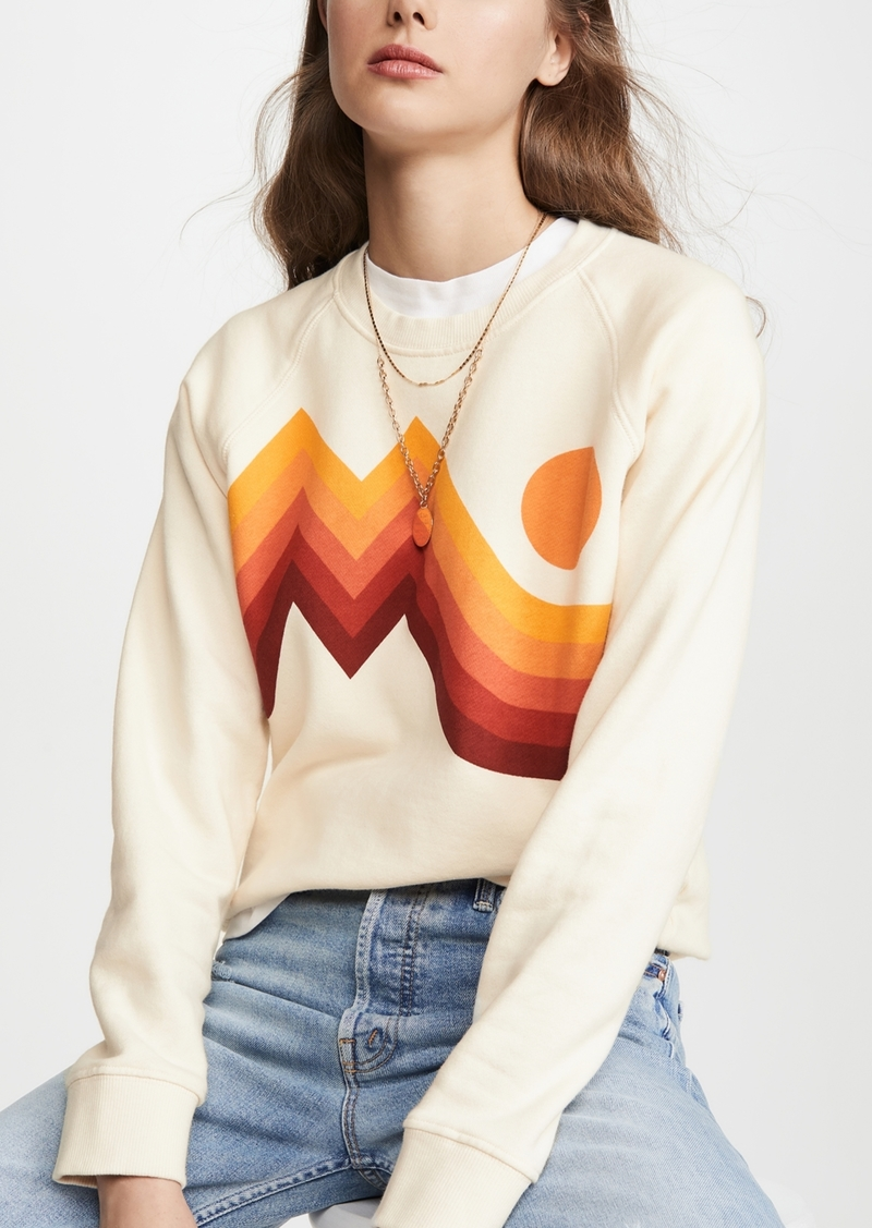 Mother Denim MOTHER The Square Pullover Sweatshirt